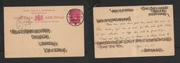 S.Africa, Transvaal, 1d Post Card, JOHANNESBURG 11 AUG 02 > CALEDON C.G.H. AUG 16 O2 - South Africa (...-1961)