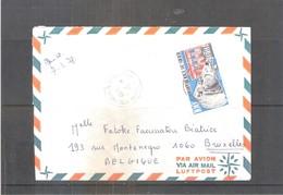 Lettre Du Niger Vers La Belgique - Unesco (à Voir) - Niger (1960-...)