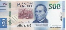 MEXIQUE 500 PESOS 2017 UNC P New - Mexique