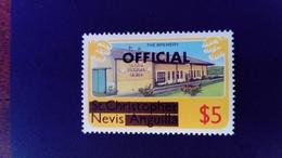 Nevis 1980 Industrie Industry Brasserie St Christophe Nevis Anguilla Service Surchargé Overprint OFFICIAL Yvert S9** MNH - St.Christopher-Nevis-Anguilla (...-1980)
