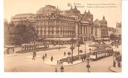 ANVERS-ANTWERPEN-Théâtre Lyrique Et Avenue De France-Vlaamsch Lyriek Tooneel En Frankrijklei-Tram 1-Tramway-Strassenbahn - Antwerpen