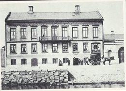 Sweden - Postoffice  Uddevalla. Posten 350 Years. Reprint.   B-3339 - Postal Services