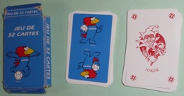 """Jeu De 32 Cartes + 1 Joker, Publicitaires, Pub """"FRANCE 98"""", Footix 1995, Coupe Du Monde 1998 Mondial Mundial - 32 Cards"""