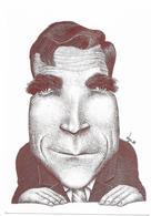 Illustrateur Bernard Veyri Caricature Du Depute Paul Chollet 1986 Politique - Veyri, Bernard