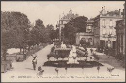 La Terrace Du Jardin Public, Bordeaux, C.1910s - Lévy CPA LL167 - Bordeaux