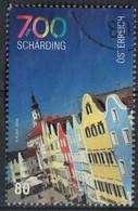 Autriche 2016 Oblitéré Used Les Façades Colorées Des Maisons à Schärding SU - 1945-.... 2nd Republic