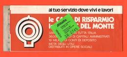 Alitalia Biglietto Carta D'imbarco 1980 Volo AZ 20 Roma Venezia Roma  Avion Flight - Biglietti Di Trasporto