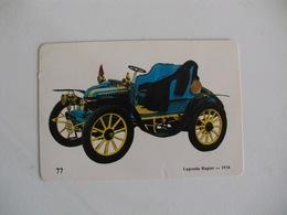 Lagonda Rapier 1934 Portugal Portuguese Pocket Calendar 1989 - Calendars