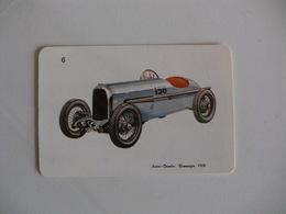 Austro-Daimler Rennwagen 1928 Portugal Portuguese Pocket Calendar 1988 - Calendars