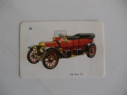 Alfa Romeo 1913 Portugal Portuguese Pocket Calendar 1988 - Calendars