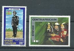 CENTRAFRICAINE   Yvert  PA  N° 123 Et 142 ** - Zentralafrik. Republik