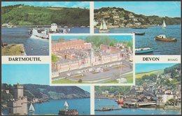 Multiview, Dartmouth, Devon, C.1960s - Harvey Barton Postcard - England