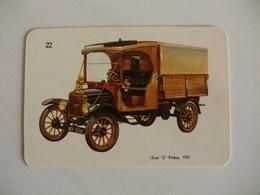 Ford T Pickup 1921 Portugal Portuguese Pocket Calendar 1988/1989 - Calendars