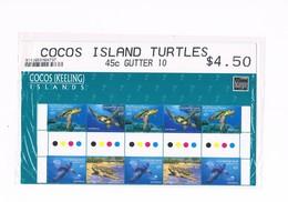 Cocos /Keeling) Islands - Cocos Island Turtles - YVERT 389-392 - Cocos (Keeling) Islands