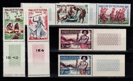 Wallis Et Futuna - YV 157 à 158B N** Complete Aspects Des Iles - Wallis-Et-Futuna