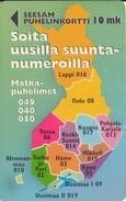 TARJETA TELEFONICA DE FINLANDIA. (543). - Finlandia