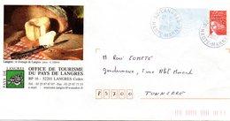PAP  Affranchi Luquet -  Fromage De LANGRES - Office De Toutrisme Du Pays De Langres - Food
