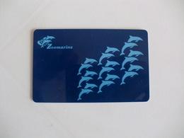 Zoomarine Dolphin Dauphin Golfinho Portugal Portuguese Plastic Pocket Calendar 1996 - Calendars