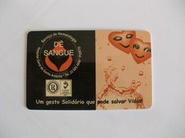Blood Donors Donneurs De Sang Dadores De Sangue Portugal Portuguese Plastic Pocket Calendar 2005 - Calendars