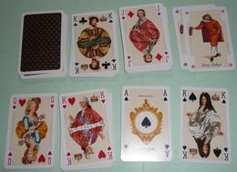 """Rare Jeu De 54 Cartes """"Histoire De France"""", Rois Et Reines, PIATNIK Austria Vienna Autriche, Roi Reine - 54 Cards"""