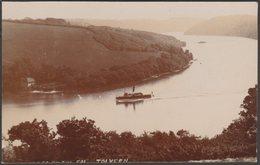 Peeps On The Fal, Tolvern, Cornwall, 1916 - Bragg RP Postcard - England