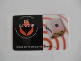 Blood Donors Donneurs De Sang Dadores De Sangue Portugal Portuguese Plastic Pocket Calendar 2003 - Calendars