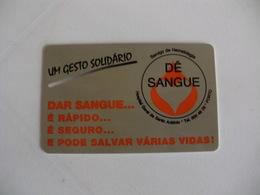 Blood Donors Donneurs De Sang Dadores De Sangue Portugal Portuguese Plastic Pocket Calendar 1999 - Calendars