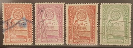 AS1 - SYRIA 1950s LAWYER'S Syndicate Of LATTAQUIE Revenue Stamps Set Of 4 - Syria