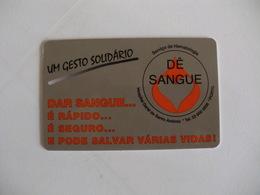 Blood Donors Donneurs De Sang Dadores De Sangue Portugal Portuguese Plastic Pocket Calendar 2000 - Calendars
