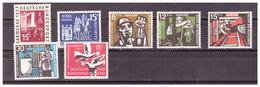 SAAR/SARRE - 1957 - ALCUNI VALORI DEL PERIODO. -  MNH** - 1957-59 Federazione