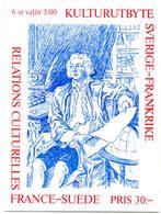 Carnet Relations Culturelles France-Suède. N° C 1794 ** Facit H 446. - Sweden