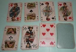 Rare Ancien Jeu De 32 Cartes Province Allemandes, Allemagne Deutschland, RHEINBERGER, Tyrol, Bad Durkheim - 32 Cards