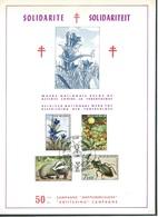 België   O.B.C. Herdenkingskaart  1738 / 1741    (O)  Fauna - Flora - Herdenkingskaarten