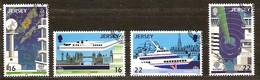 Cept 1988 Jersey Yvertnr 429-32 (°) Oblitéré Used Cote 5 Euro - Jersey