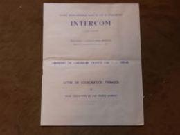 Présentation Offre Souscription Publique Emprunt Société Intercom 1965-85 300 000 Obligations - Shareholdings
