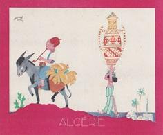 Aux Galeries Lafayette - Buvard- Les Colonies Françaises N° 2 ALGÉRIE -  Illustration Marcel Arnac - Blotters