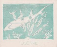 Aux Galeries Lafayette - Buvard- Les Colonies Françaises N° 3 OCEANIE -  Illustration Marcel Arnac - Blotters