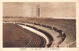 "0630 ""TORINO - STADIO MUSSOLINI E TORRE MARATONA""  VEDUTA.  CART   SPED 1934 - Stadiums & Sporting Infrastructures"