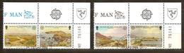 Cept 1986 Île De Man Yvertnr. 302-05 (°) Oblitéré Used Cote 5 Euro - Man (Ile De)