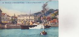 CPA - 145. TROUVILLE Le Bac Et La Place Du Casino - Trouville