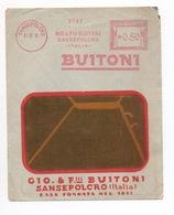 GASTRONOMIE EMPREINTE ROUGE DE MACHINE A AFFRANCHIR Buitoni 1931 - Food