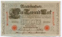 1000 MARK BERLIN 21 APRIL 1910 - [ 2] 1871-1918 : Impero Tedesco