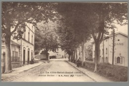 CPA 38 - La Cote Saint André - Avenue Berlioz - La Côte-Saint-André