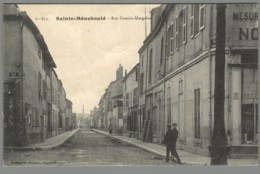 CPA 51 - Sainte Ménéhould - Rue Camille Margaine - Sainte-Menehould