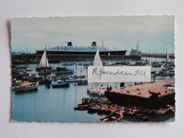 Paquebot FRANCE .LE HAVRE.Le Petit Port Aux Yachts (V.clichés Recto-verso) - Paquebots
