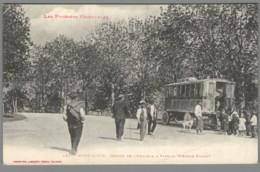 CPA 66 - Mont Louis - Départ De L'Omnibus à Vapeur - Système Purrey - Francia