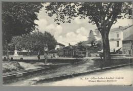 CPA 38 - La Cote Saint André - Place Hector Berlioz - La Côte-Saint-André