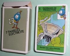 Rare Jeu De Cartes 7 Familles Neuf, ELECTRICITE - Cartes à Jouer