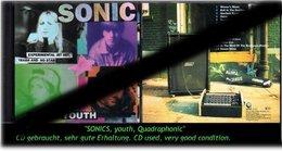 """""""SONICS"""" YOUTH QUADRAPHONIC - 1989 - - Hard Rock & Metal"""