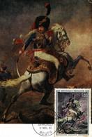 TIMBRES.CARTE MAXIMUM.N°3599.GERICAULT.OFFICIER DE CHASSEURS A CHEVAL DE LA GARDE - Timbres